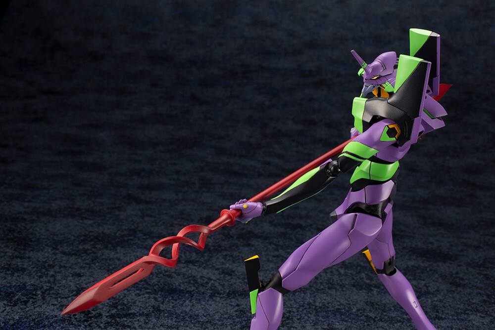 - Evangelion Test Type-01 With Spear Of Cassius