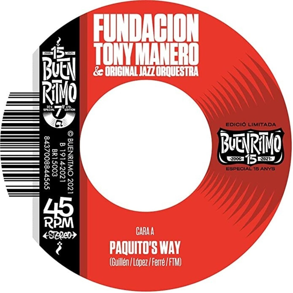 Fundacion Tony Manero & Original Jazz Orquestra - Paquito's Way (Spa)