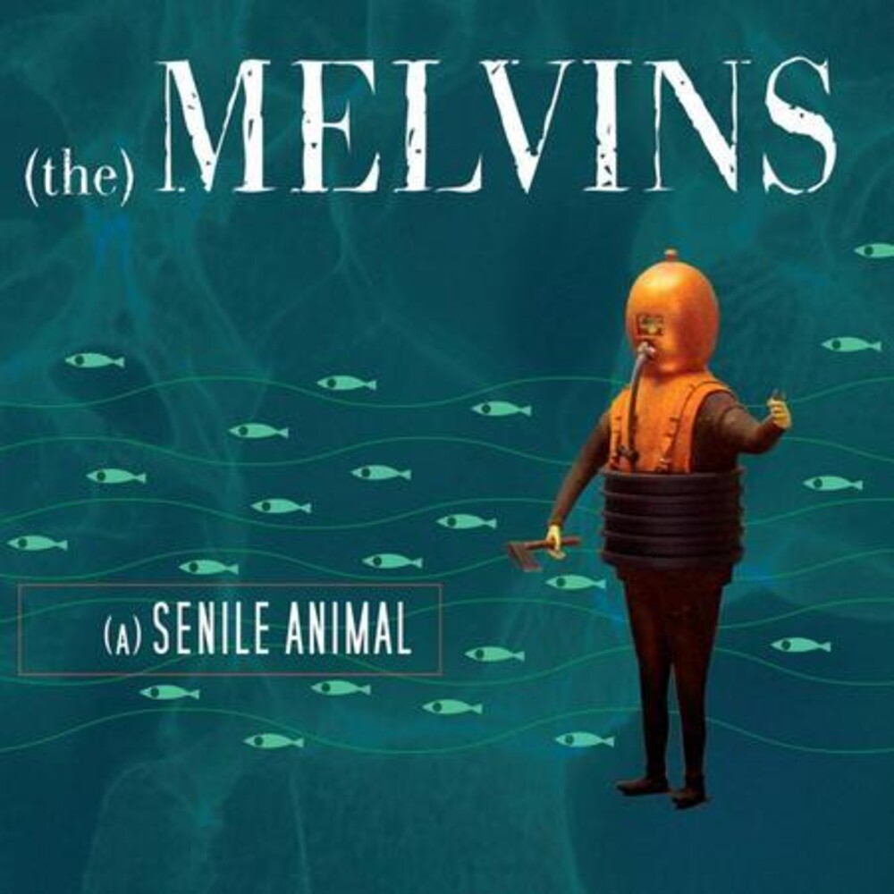 Melvins - Senile Animal (Blue) [Colored Vinyl]