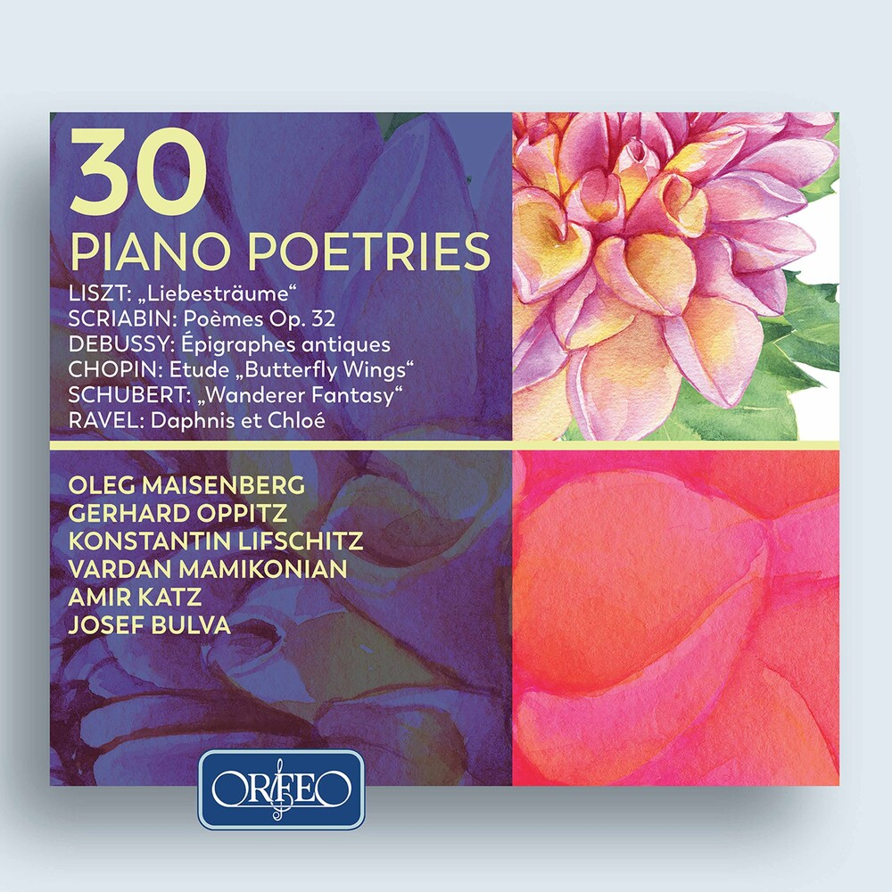 30 Piano Poetries / Various (2pk) - 30 Piano Poetries (2pk)