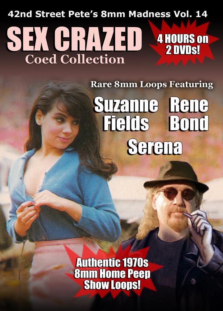- 42nd Street Pete's Sex Crazed Coeds 8mm Loop Collection