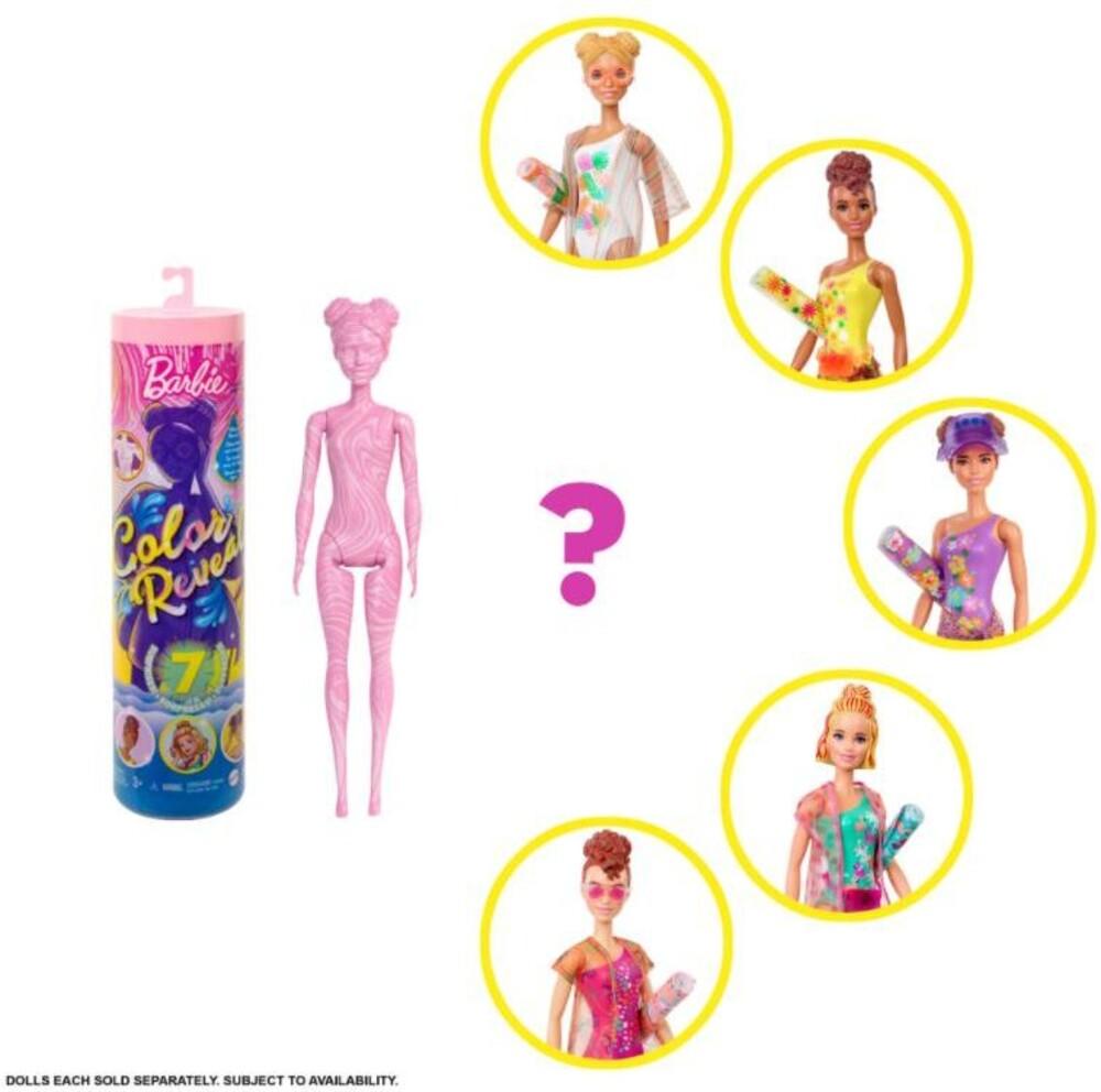 Barbie - Barbie Summer Color Reveal Doll (Papd)