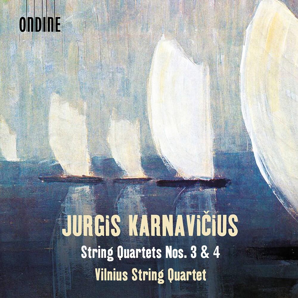 Karnavicius / Vilnius String Quartet - String Quartets 3 & 4