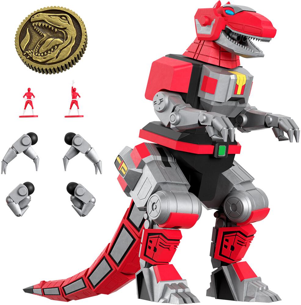 - Mmpr Ultimates! Wave 1 - Tyrannosaurus Dinozord