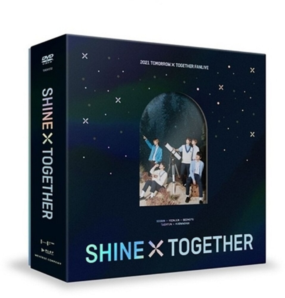 TXT - 2021 Fanlive Shine X Together (3pc) / (Phob Phot)