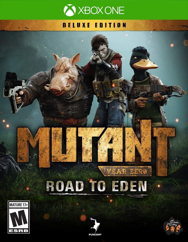 - Mutant Year Zero: Road to Eden Deluxe Edition for Xbox One