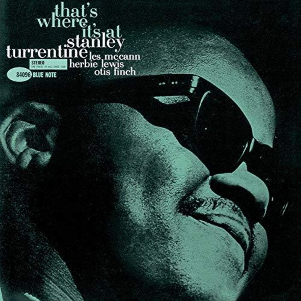 Stanley Turrentine - That's Where It's At [Limited Edition] (Jpn)