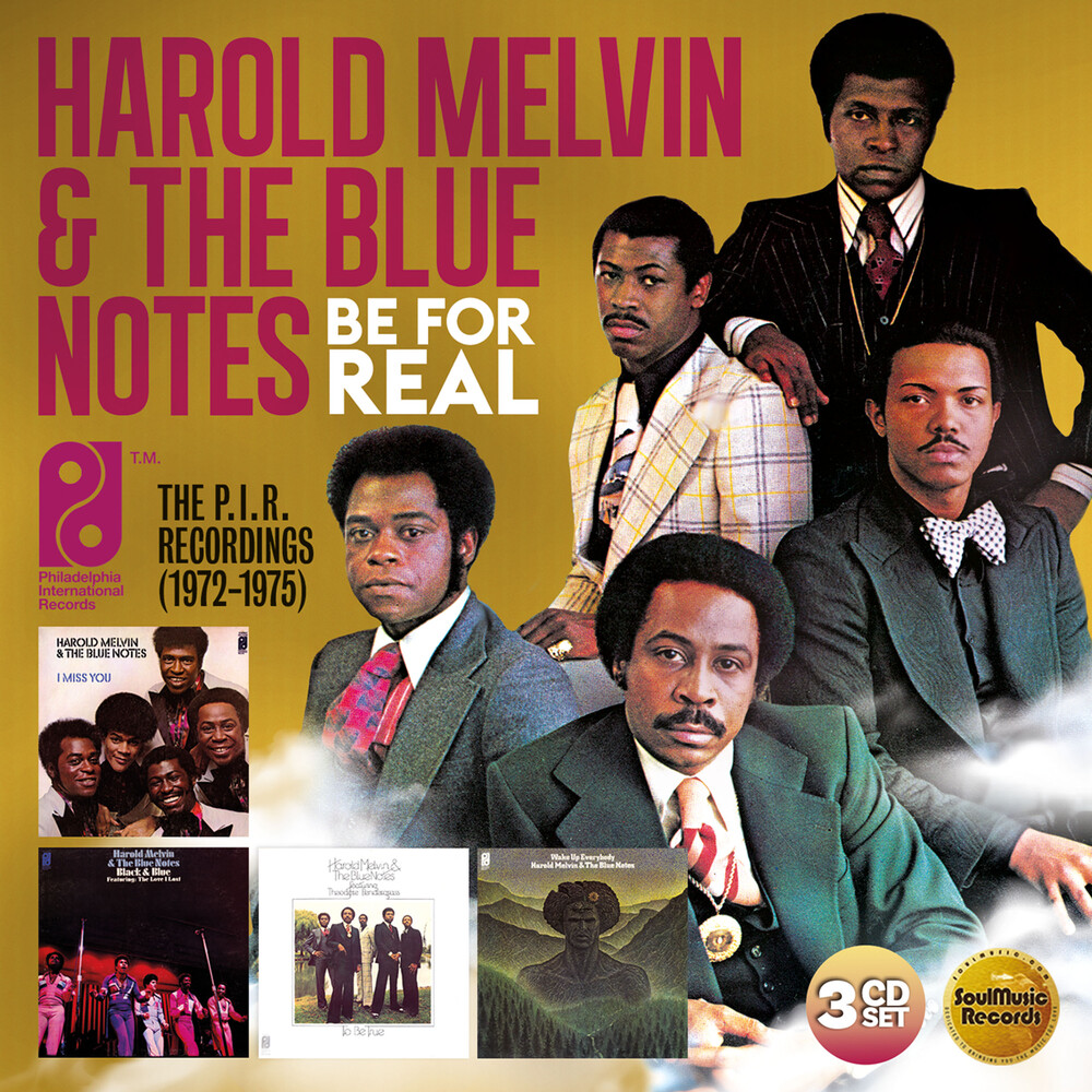 Harold Melvin & The Blue Notes - Be For Real: The P.I.R. Recordings 1972-1975 (Uk)