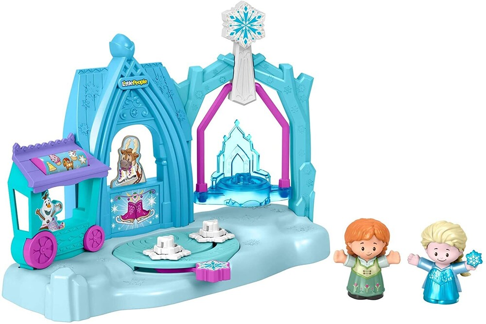 Little People - Fisher Price - Little People Frozen Mid-Playset