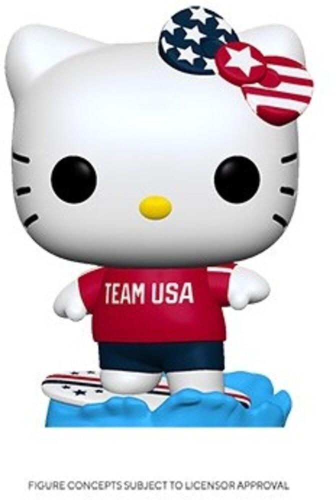 Funko Pop! Sanrio: - FUNKO POP! SANRIO: Hello Kitty Sports Team USA - Surfing Hello Kitty