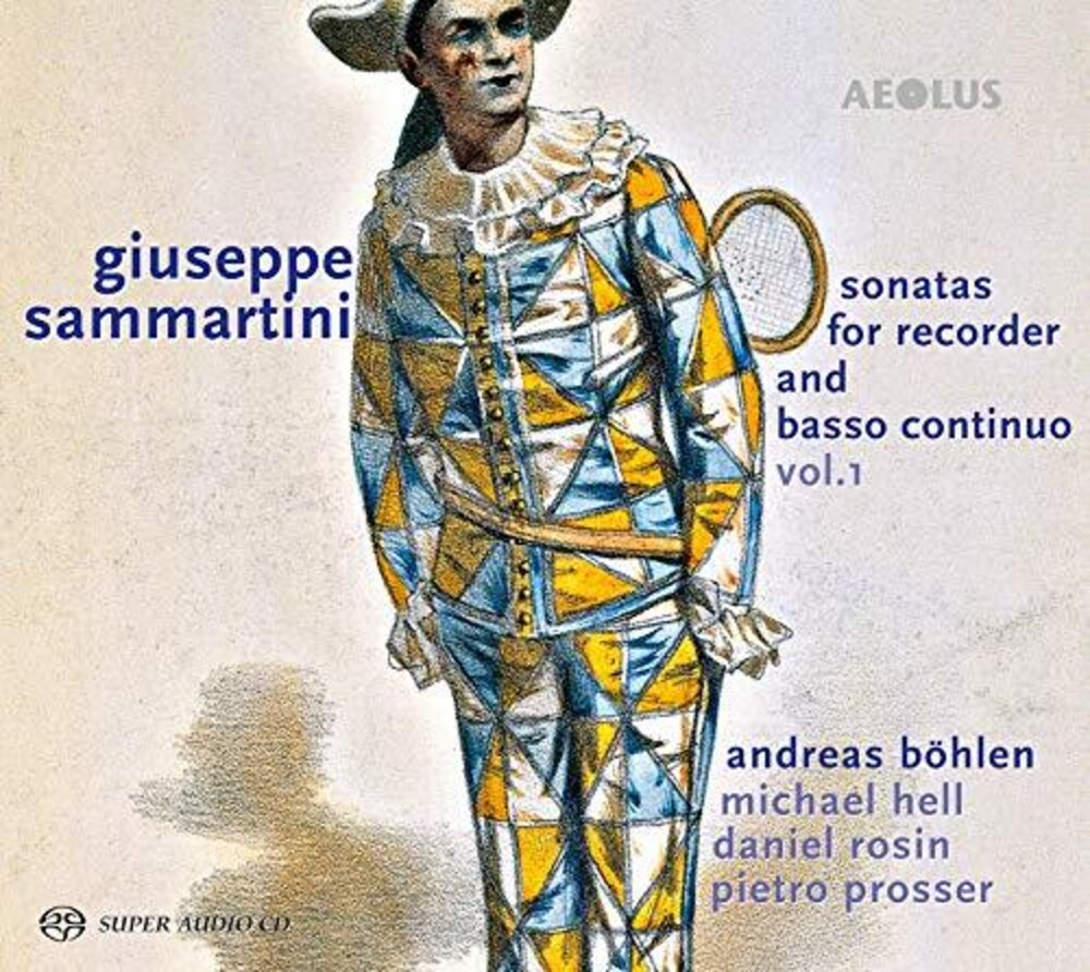 Sammartini / Bohlen / Prosser - Sonatas For Recorder 1 (Hybr)