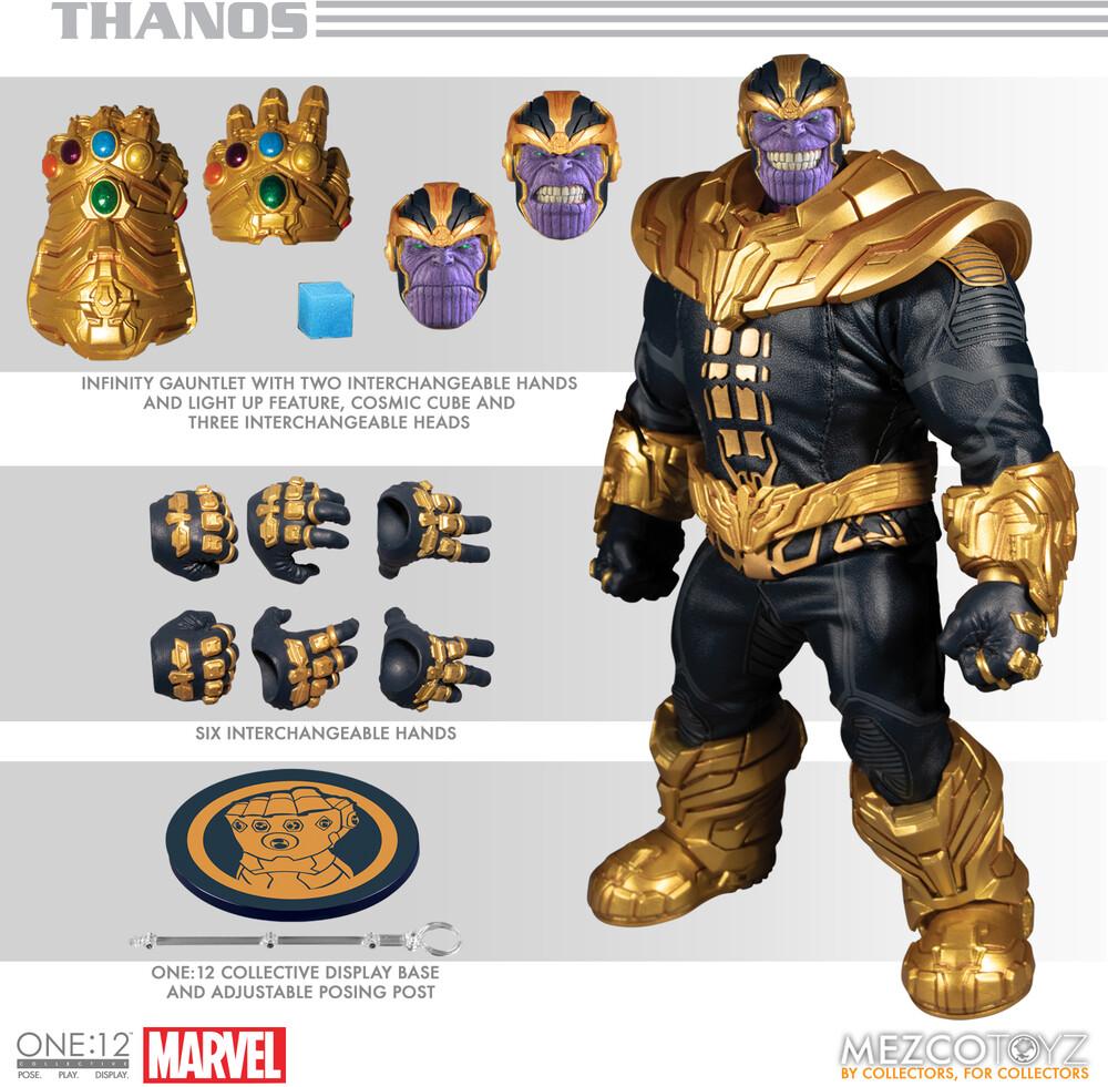 One:12 Collective Marvel Thanos - Mezco One:12 Collective Marvel Thanos