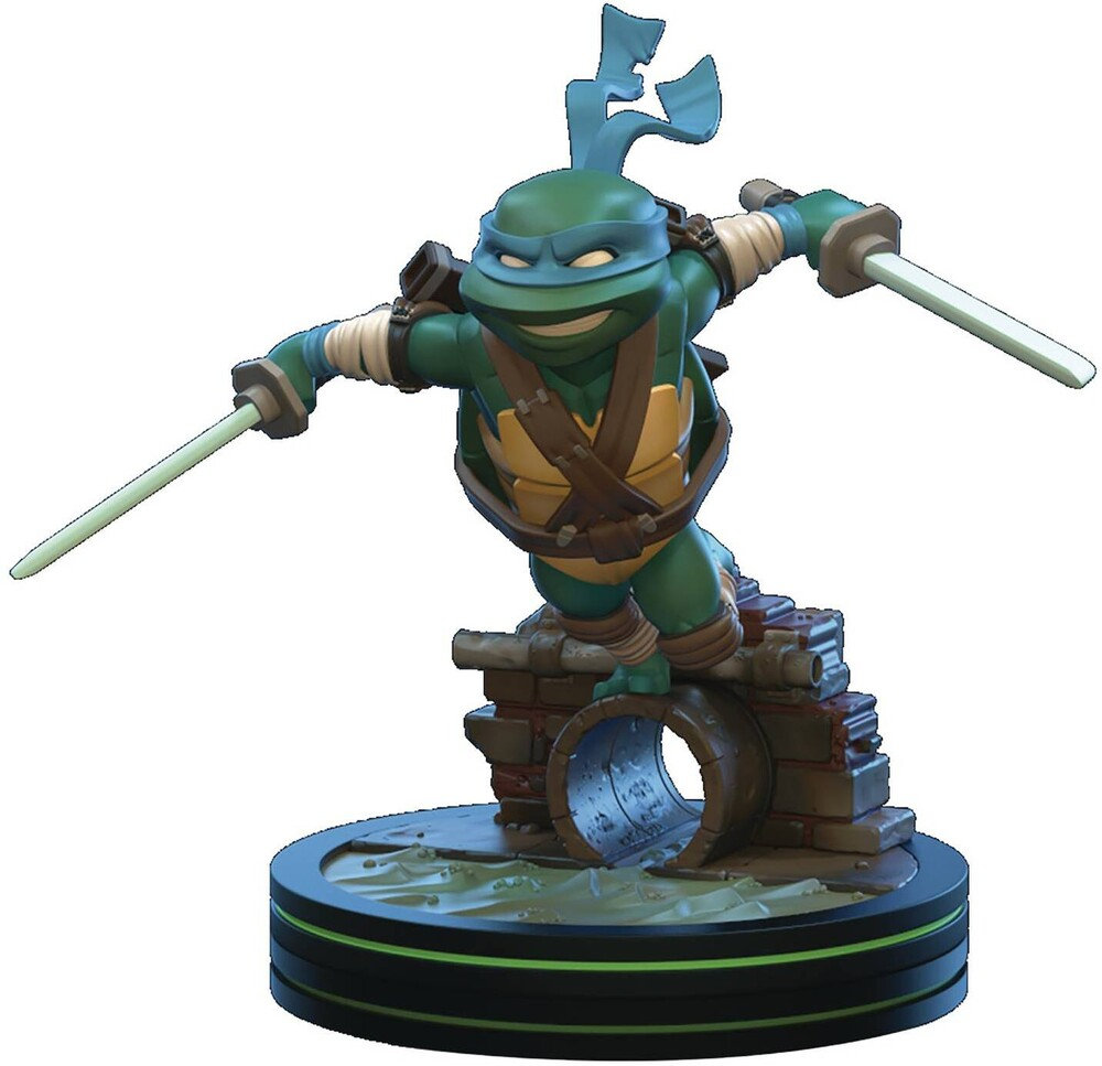 - Quantum Mechanix QMx - Teenage Mutant Ninja Turtles TMNT - Leonardo Q-Fig