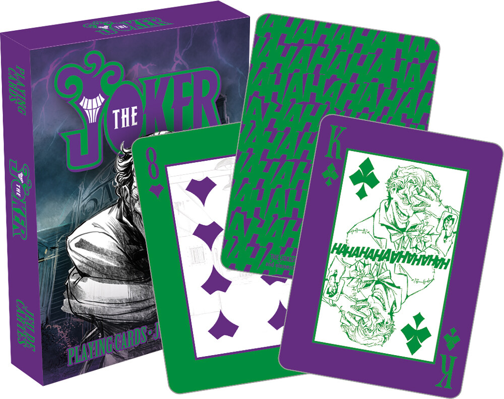 Dc Comics Joker Playing Cards Deck - DC Comics Joker Playing Cards Deck