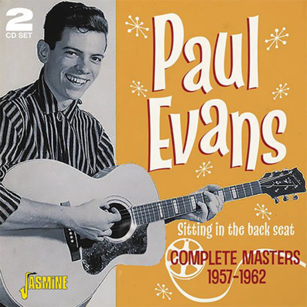 Paul Evans - Sitting In The Back Seat: Complete Masters 1957-62