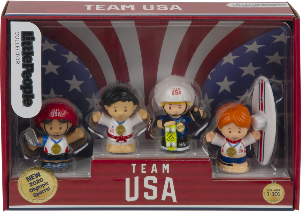 - Fisher Price - Little People: Olympic Sports Figure Pack