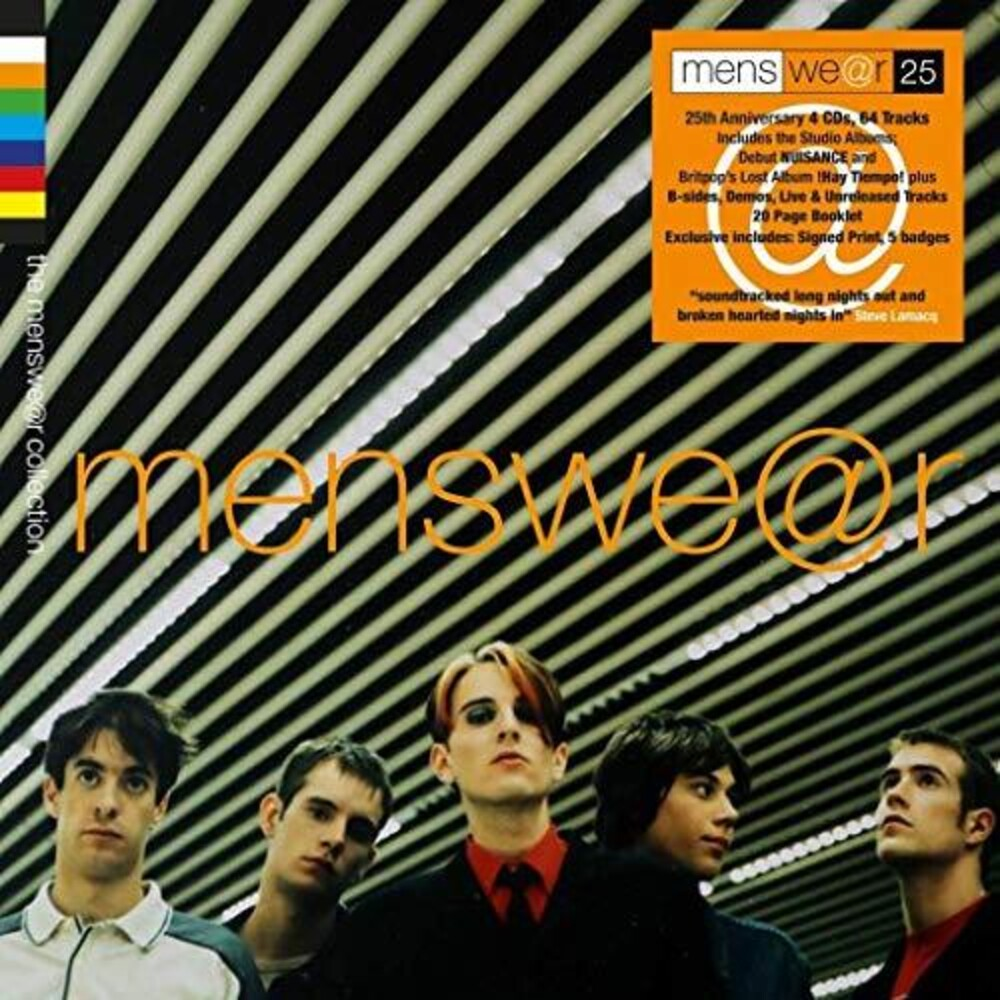 Menswear - Menswear Collection [Signed Boxset With Badge Set]