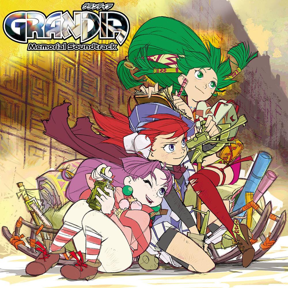 Noriyuki Iwadare Grn Ogv Rmst - Grandia - Memorial Soundtrack (Grn) [180 Gram] [Remastered]