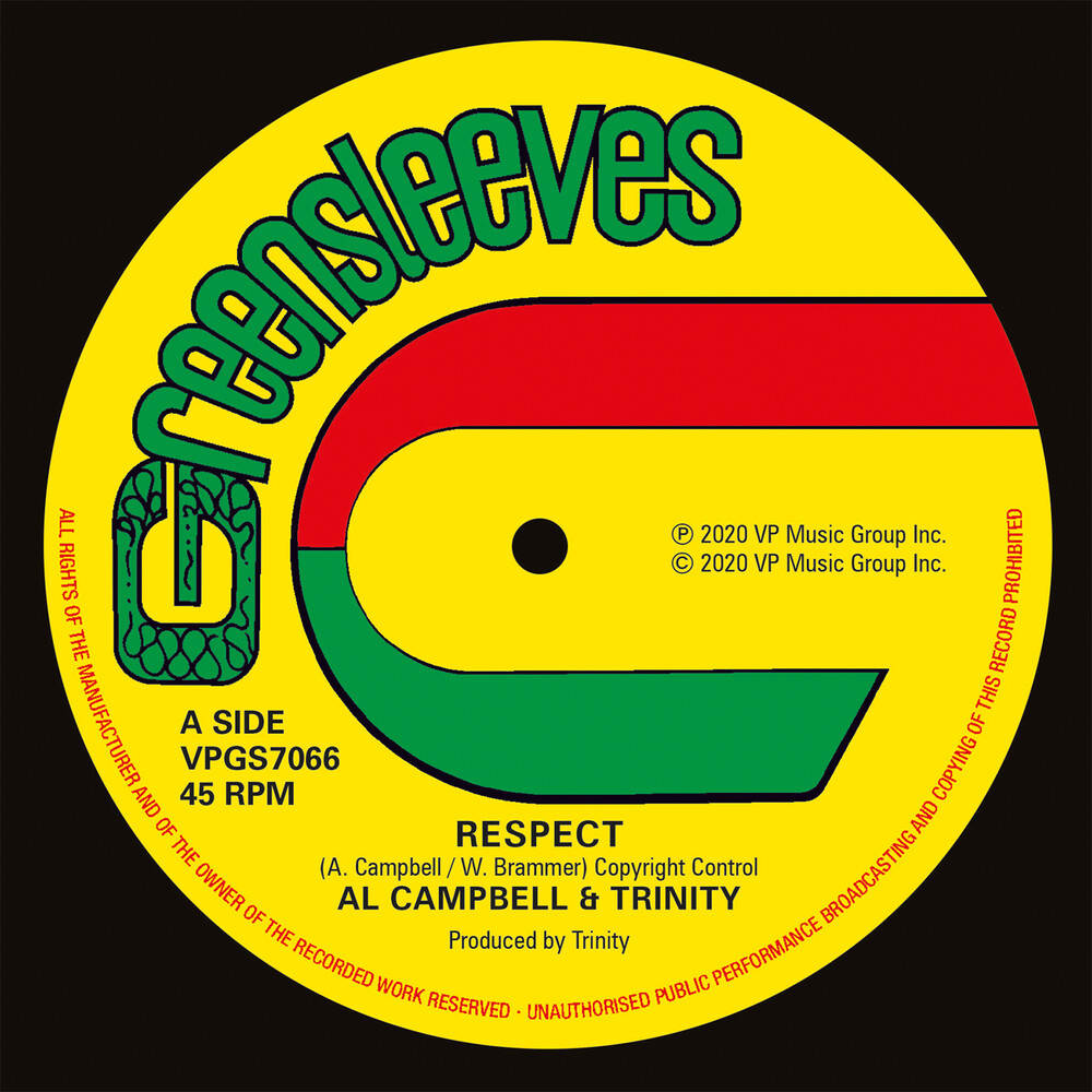 Al Campbell / Trinity - Respect (Uk)