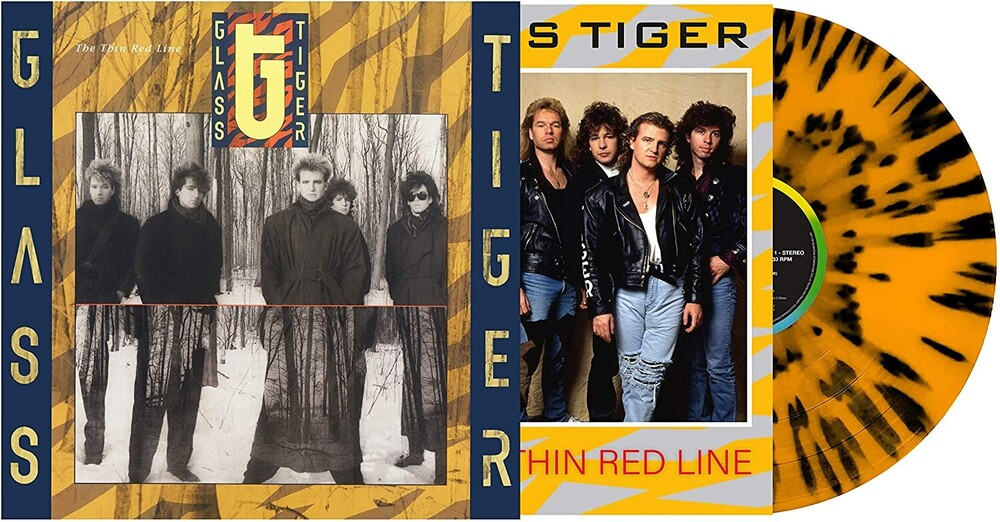 Glass Tiger - Thin Red Line (Colv) (Can)