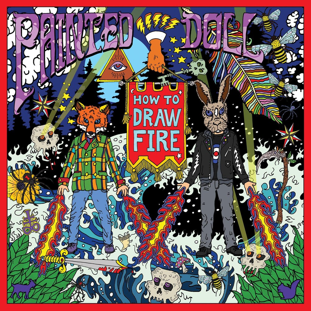 Painted Doll - How To Draw Fire