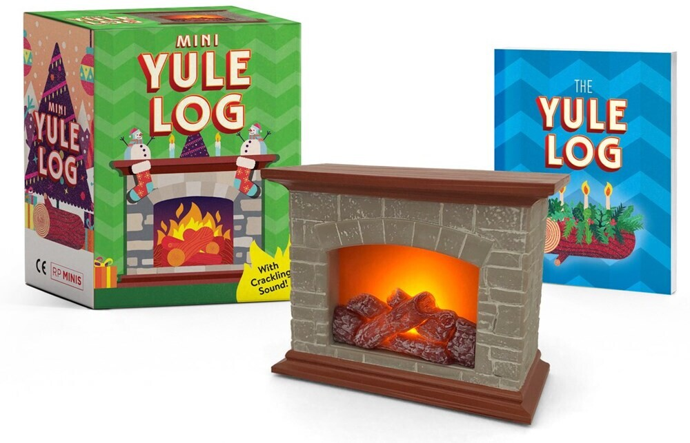 - Mini Yule Log: With crackling sound!