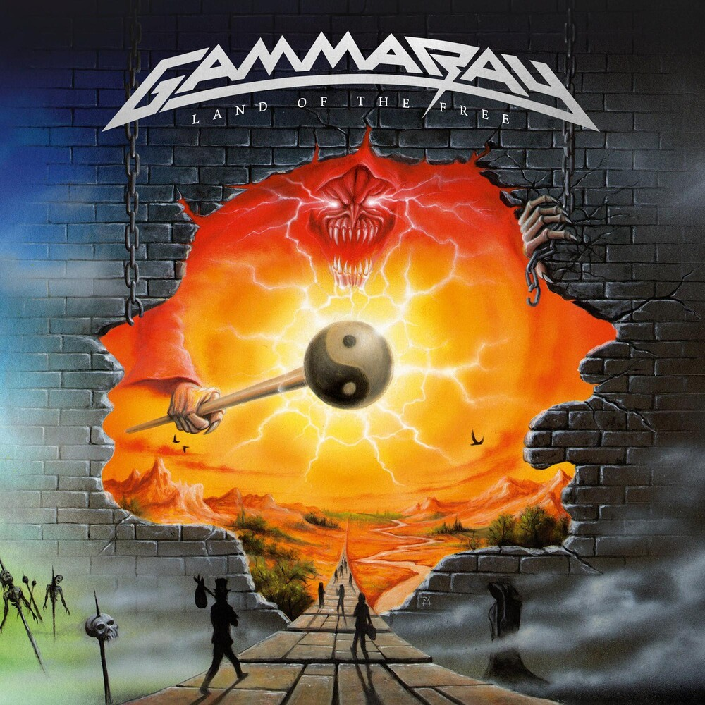 Gamma Ray - Land Of The Free [Colored Vinyl] [Limited Edition] (Wht)