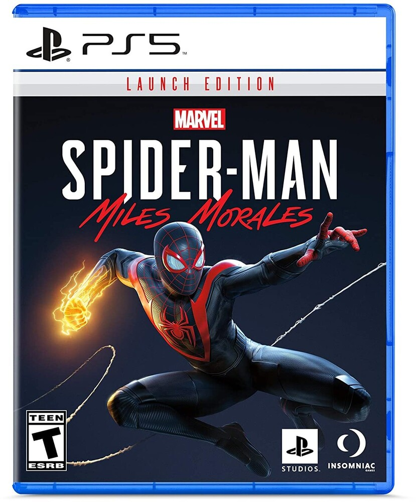 Ps5 Marvel's Spider-Man: Miles Morales - Launch Ed - Ps5 Marvel's Spider-Man: Miles Morales - Launch Ed