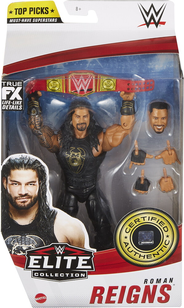 WWE - Mattel Collectible - WWE Elite Top Pick Roman Reigns