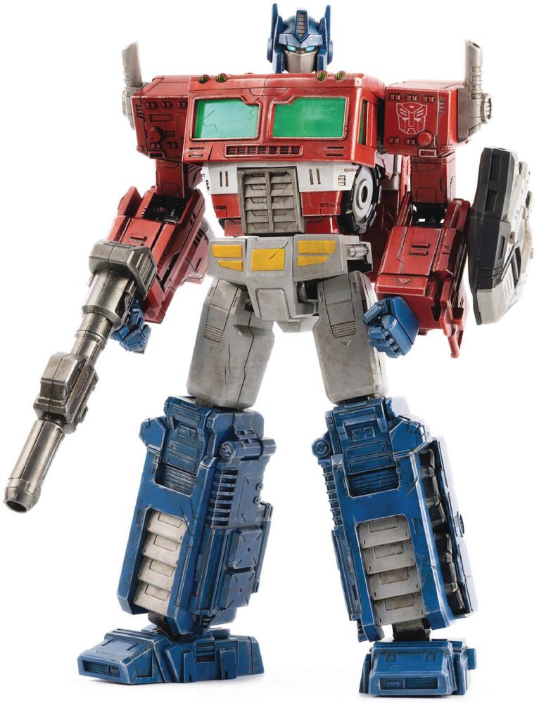 THREEZERO - THREEZERO - Transformers War For Cybertron Optimus Prime Deluxe ScaleFigure (Net)