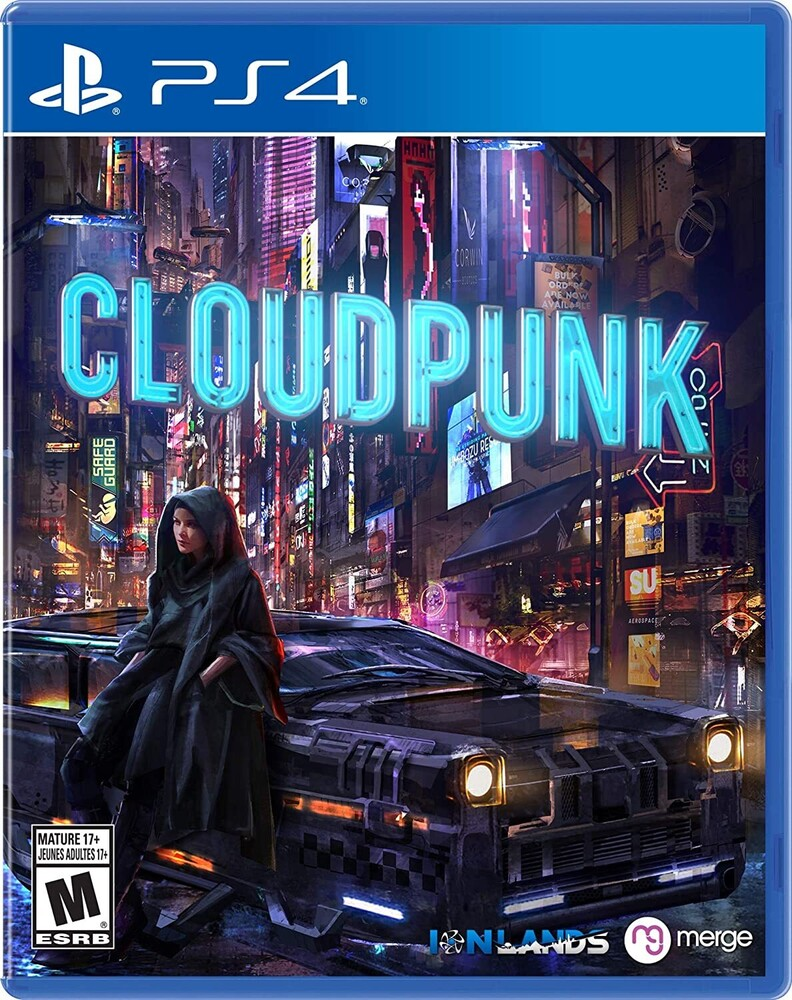 Ps4 Cloudpunk - Ps4 Cloudpunk