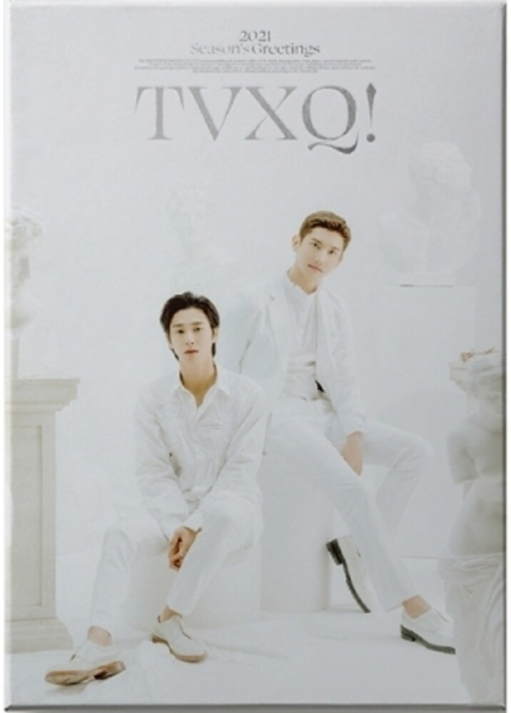 Tvxq! - 2021 Season's Greetings (incl. 2021 Desk Calendar, Hard Cover Diary,Frame+Postcard Calendar Set, Folded Poster Calendar Set, Sti
