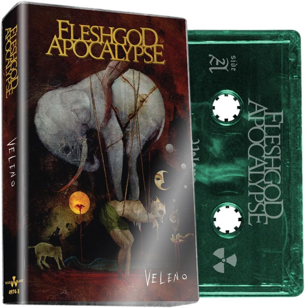 Fleshgod Apocalypse - Veleno (Green Cassette) (Grn) [Limited Edition]