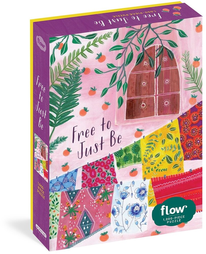 Hulst, Astrid Van Der / Smit, Irene - Free To Just Be 1000 Piece Puzzle Flow For Adults