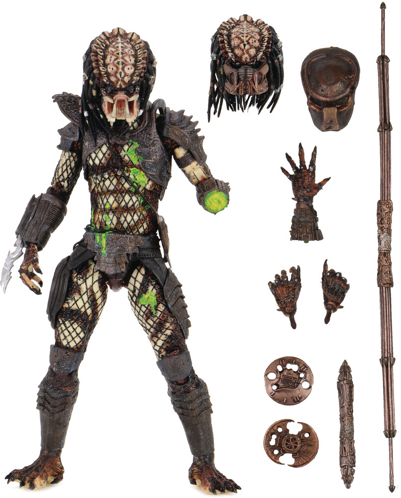 - NECA - Predator 2 Ultimate Battle Damaged City Hunter 7 Action Figure
