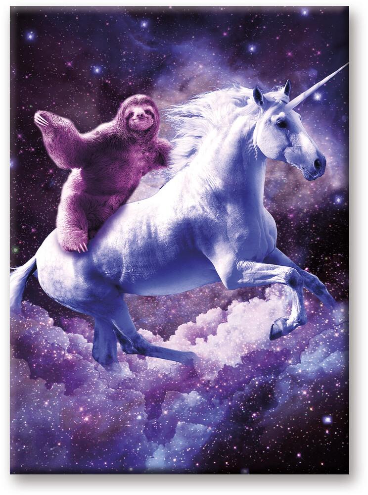 Random Galaxy Unicorn 2.5 X 3.5 Flat Magnet - Random Galaxy Unicorn 2.5 x 3.5 Flat Magnet