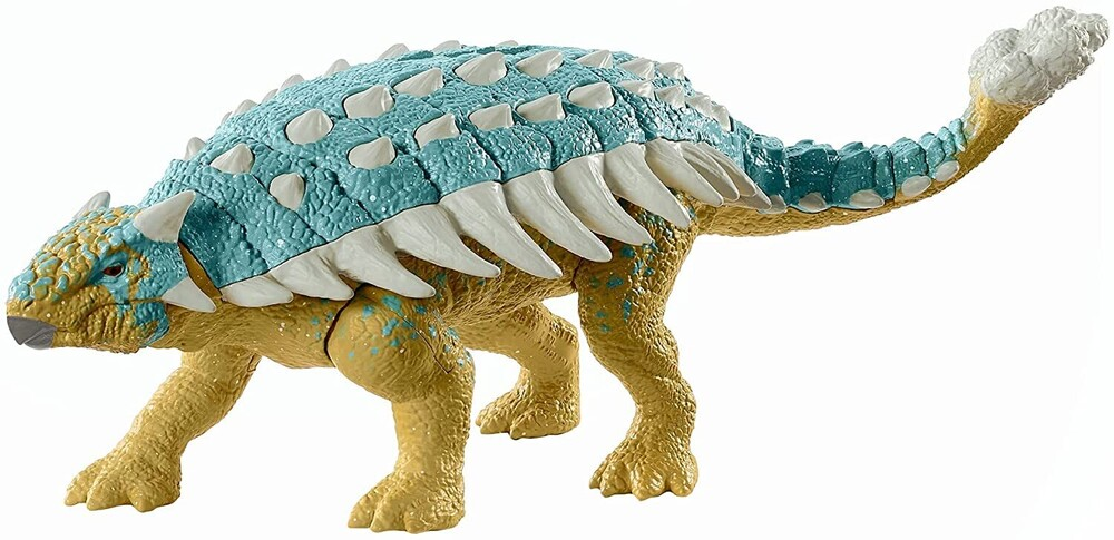 Jurassic World - Mattel - Jurassic World Roar Attack Ankylosaurus