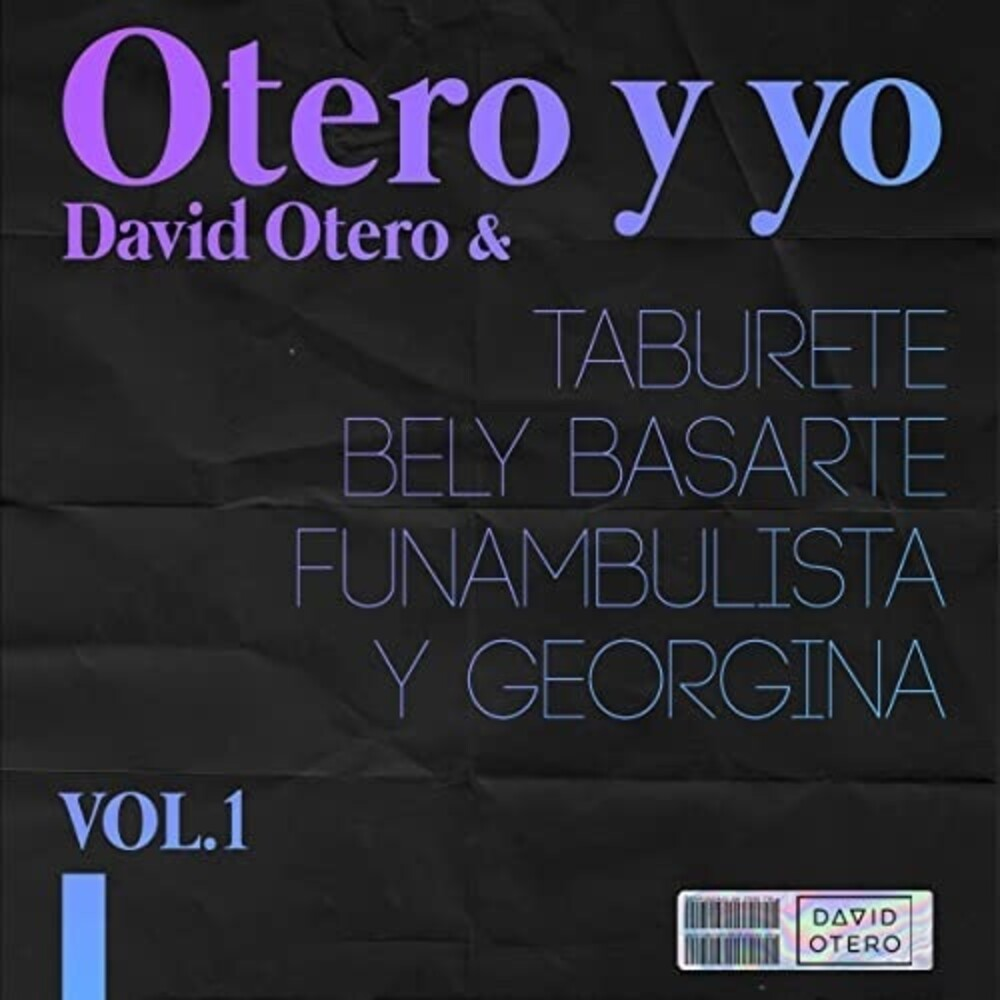 David Otero - Otero Y Yo (W/Cd) (Spa)