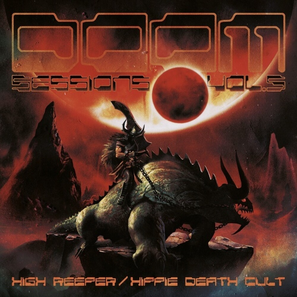 High Reeper / Hippie Death Cult - Doom Sessions 5 [Colored Vinyl]