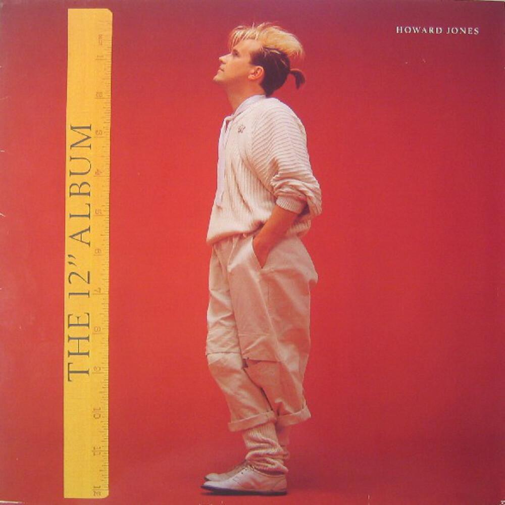 Howard Jones - 12 Inch Album [Clear Vinyl] [Limited Edition] (Ofgv) (Red)
