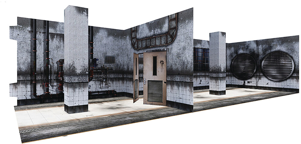 - Extreme Sets Asylum Pop Up 1/12 Scale Diorama