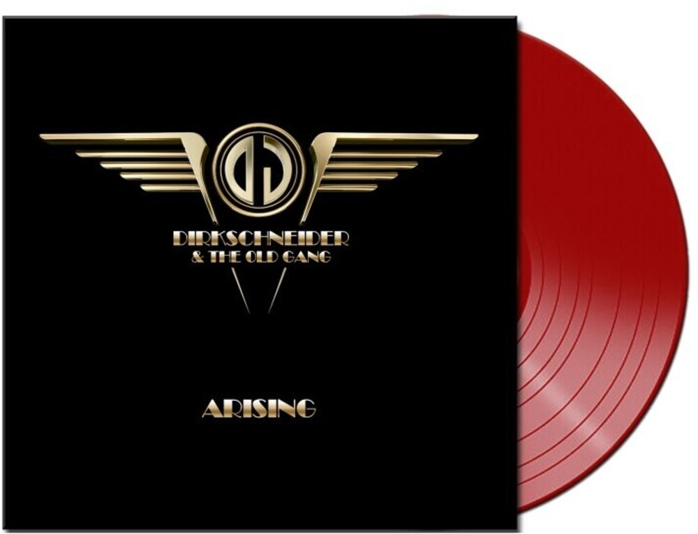 Dirkschneider & The Old Gang - Arising (Red Vinyl) [Colored Vinyl] [Limited Edition] (Red) [Indie Exclusive]