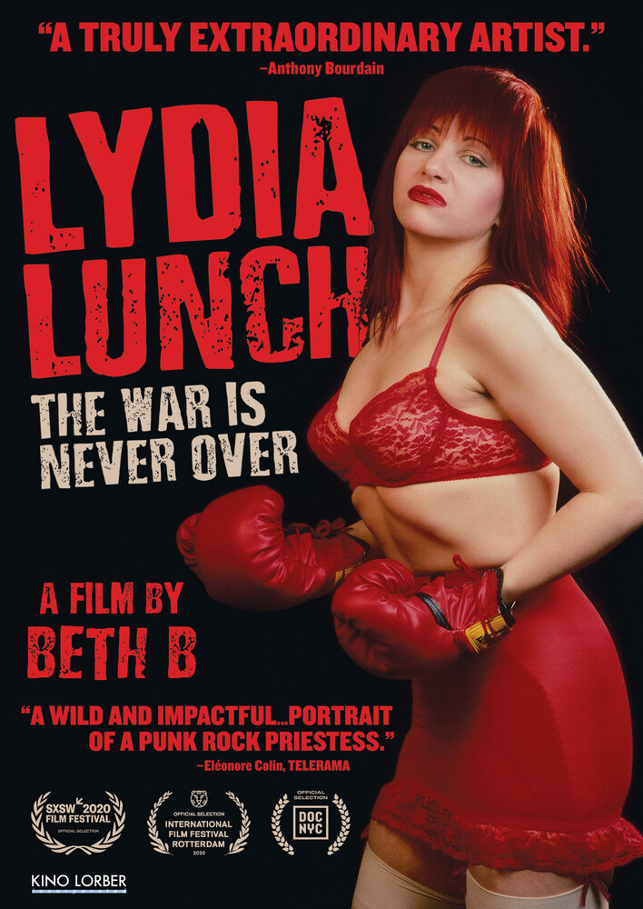 - Lydia Lunch: The War Is Never Over (2019)