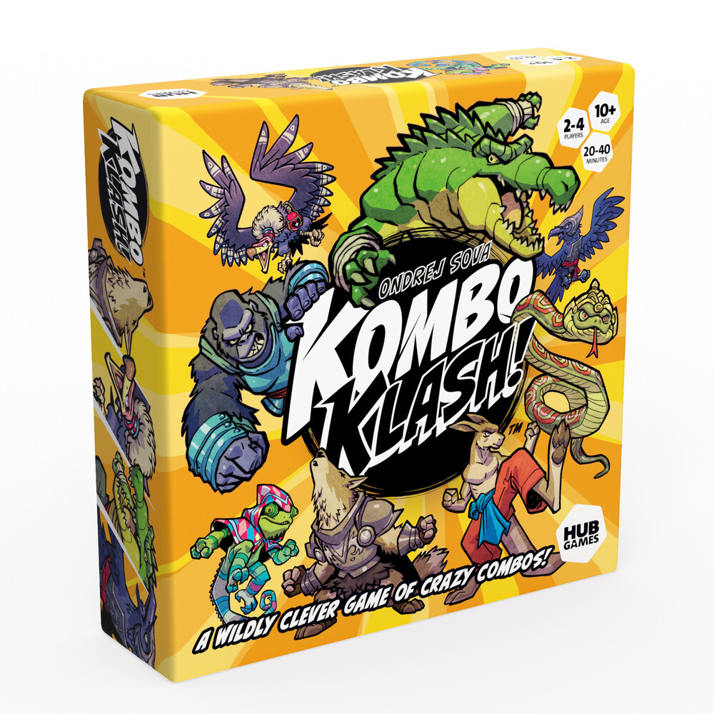 - Kombo Klash A Wildly Clever Game Of Crazy Combos!