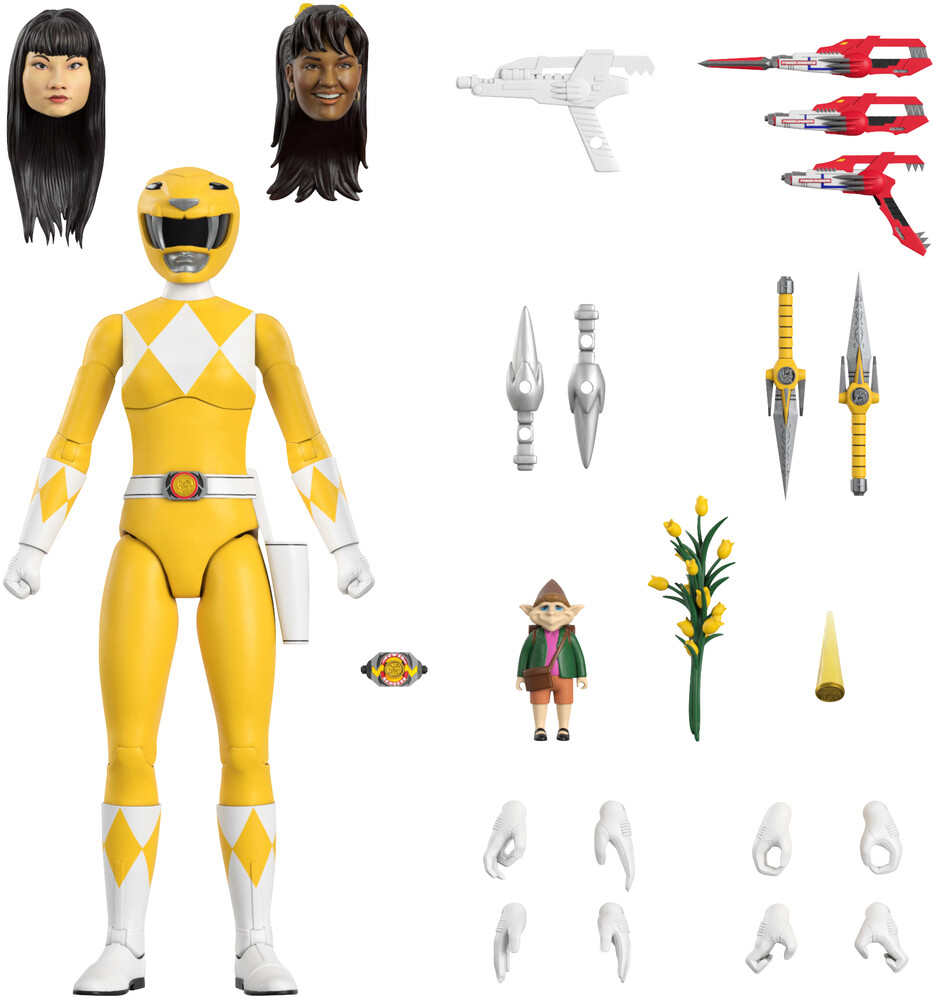 - Power Rangers Ultimates! Wave 1 - Yellow Ranger