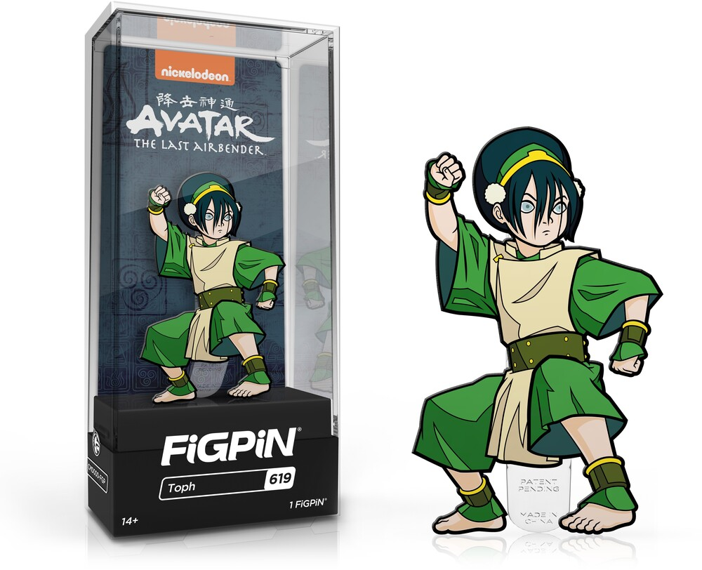 Figpin Avatar the Last Airbender Toph #619 - Figpin Avatar The Last Airbender Toph #619 (Clcb)