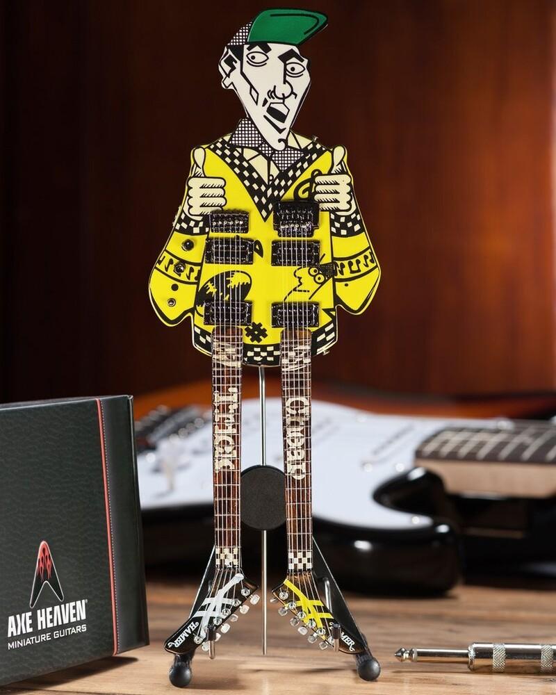 Rick Nielsen Cheap Trick Doubleneck Mini Guitar - Rick Nielsen Cheap Trick Doubleneck Mini Guitar