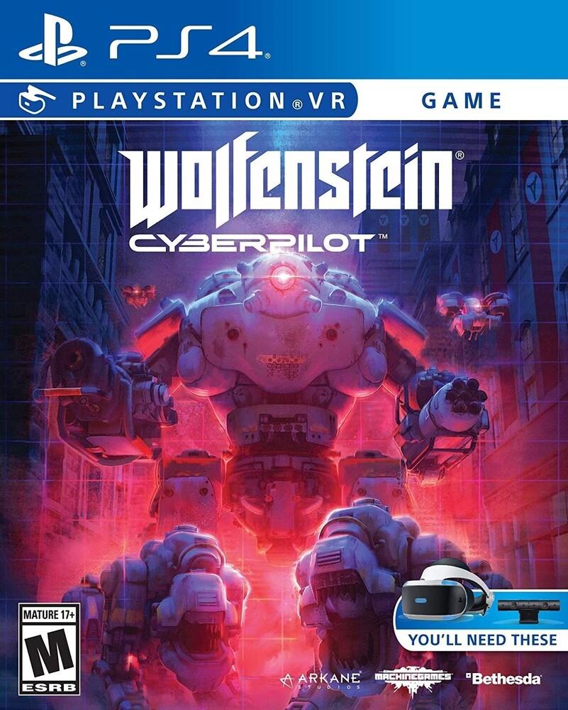 Ps4 Wolfenstein: Cyberpilot Vr - Wolfenstein: Cyberpilot VR for PlayStation 4