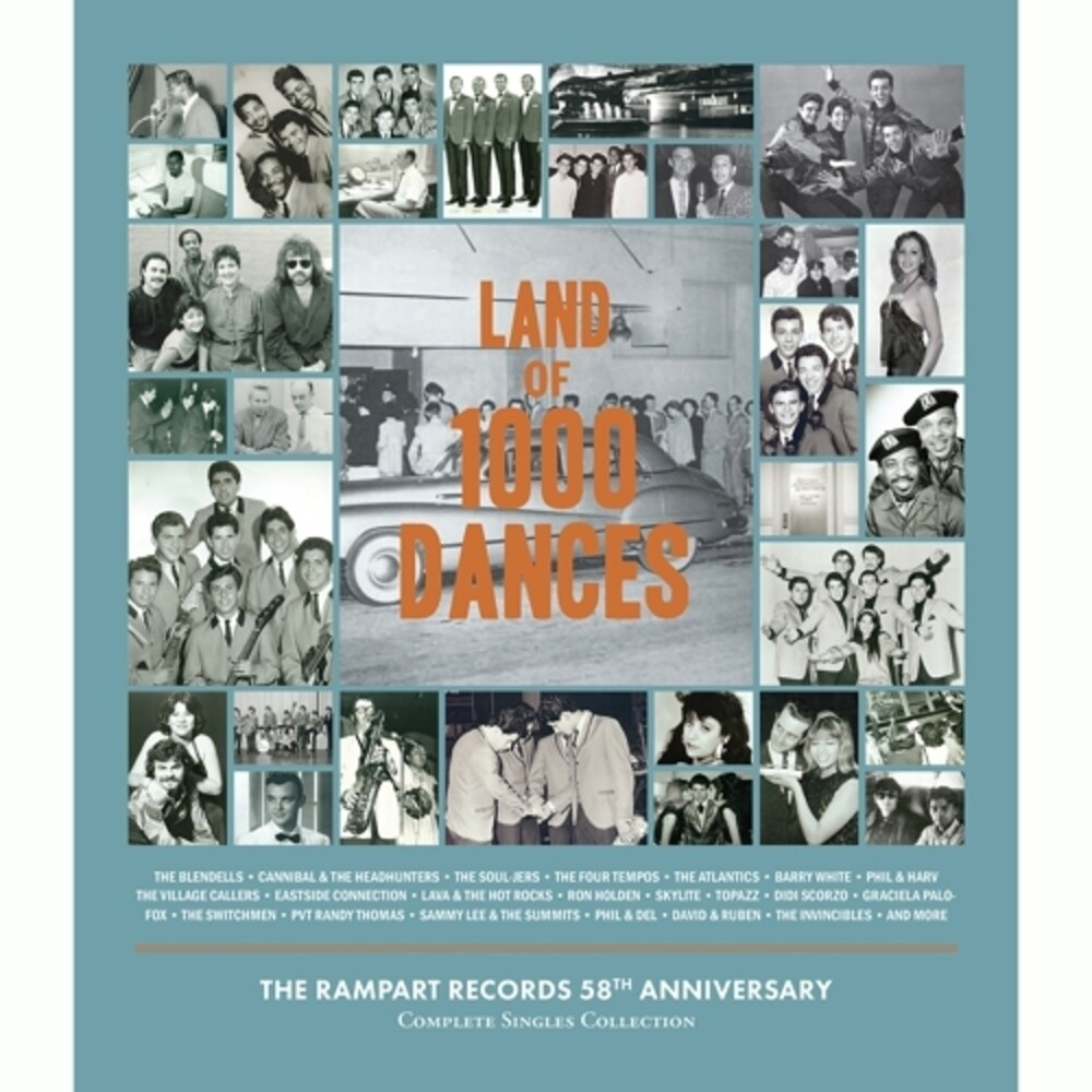 Land Of 1000 Dances - The Rampart Records Complete - Land Of 1000 Dances - The Rampart Records Complete
