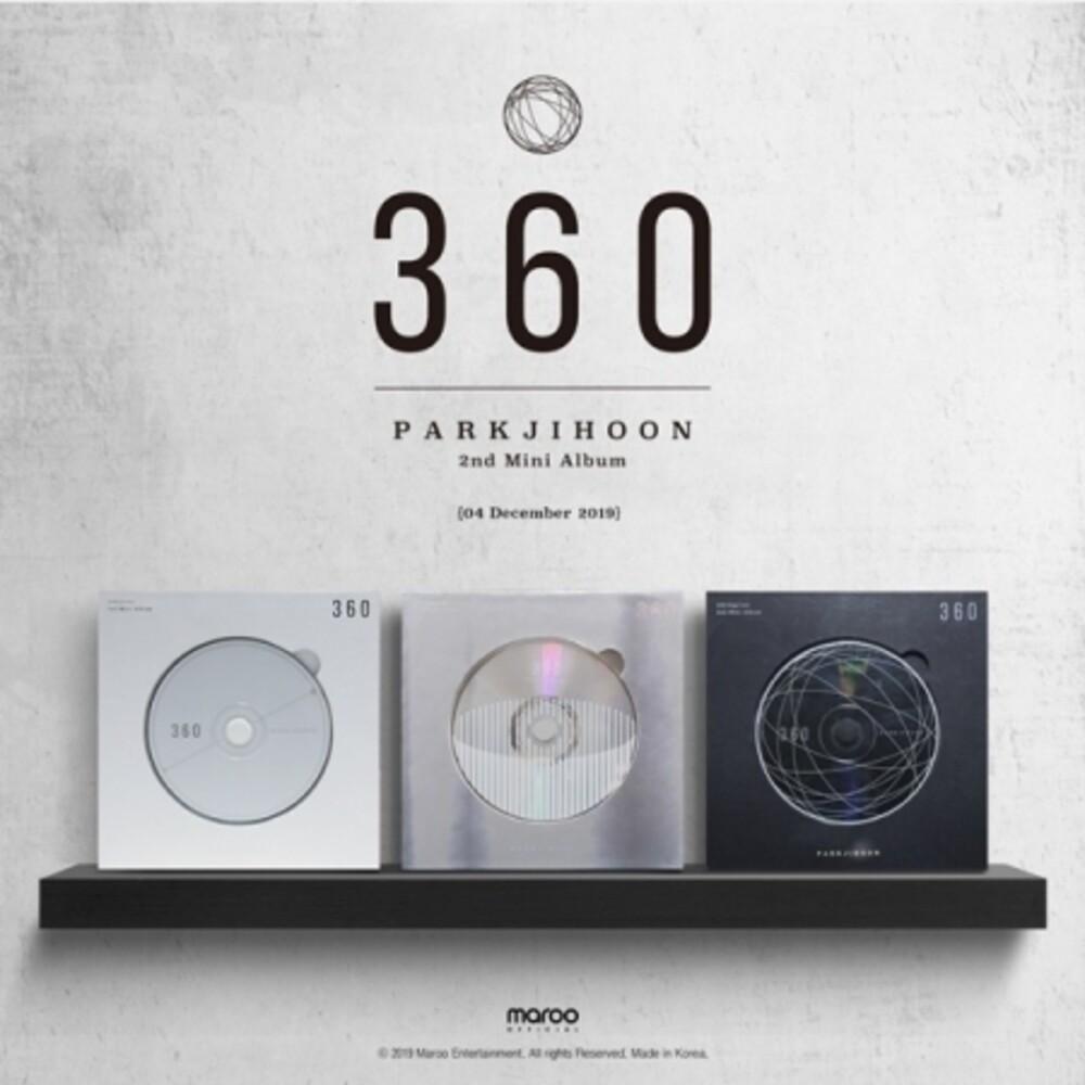 Park Ji Hoon - 360 (Random Cover) (Incl. 60pg Photobook, Puzzle Card + Photocard)